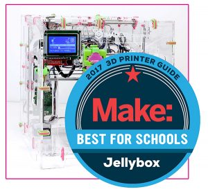 2017 3D Printer Guide - Make: Jellybox - Exhibitor at the STEM Symposium