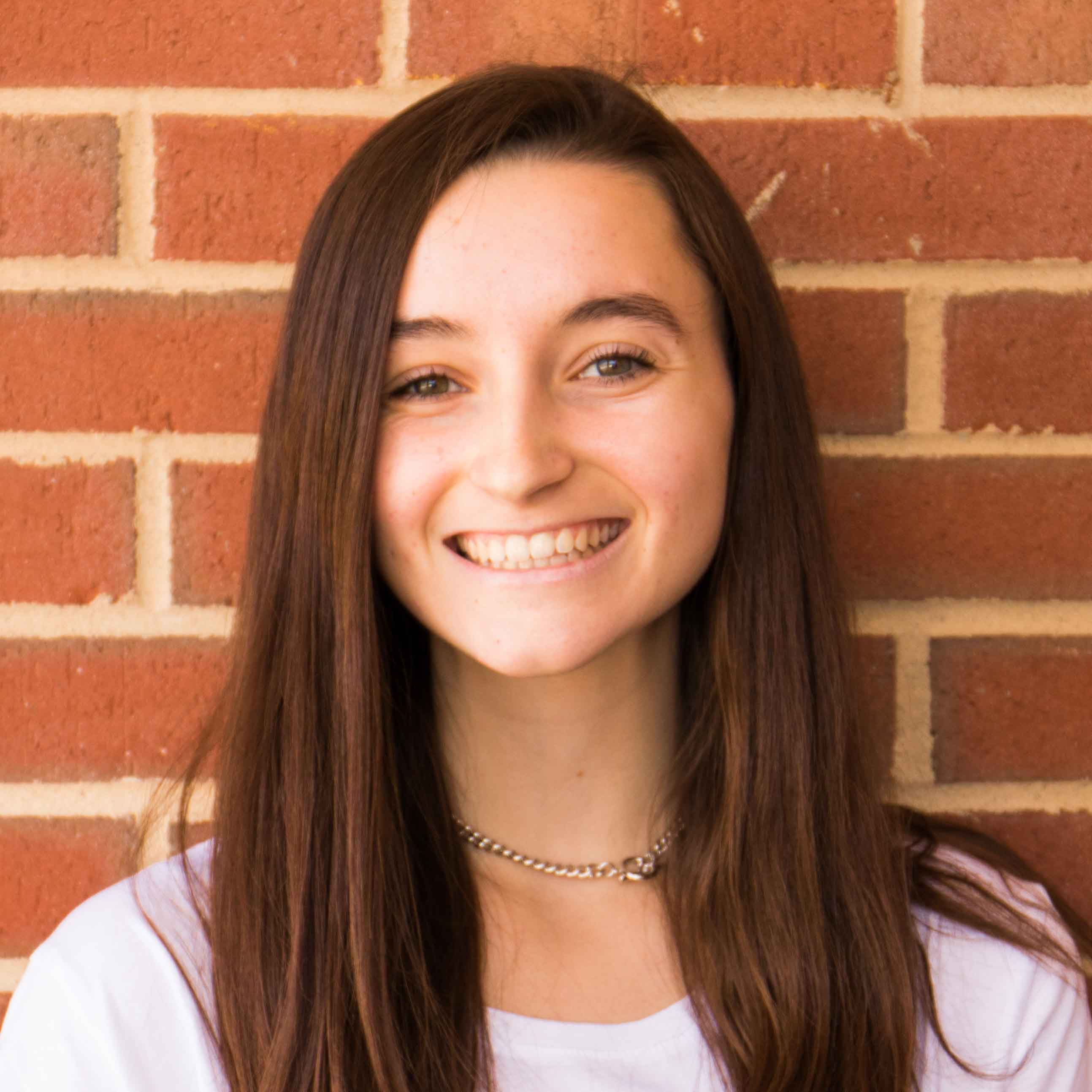 Anna Lulushi, Senior at Thomas Jefferson High School for Science and Technology