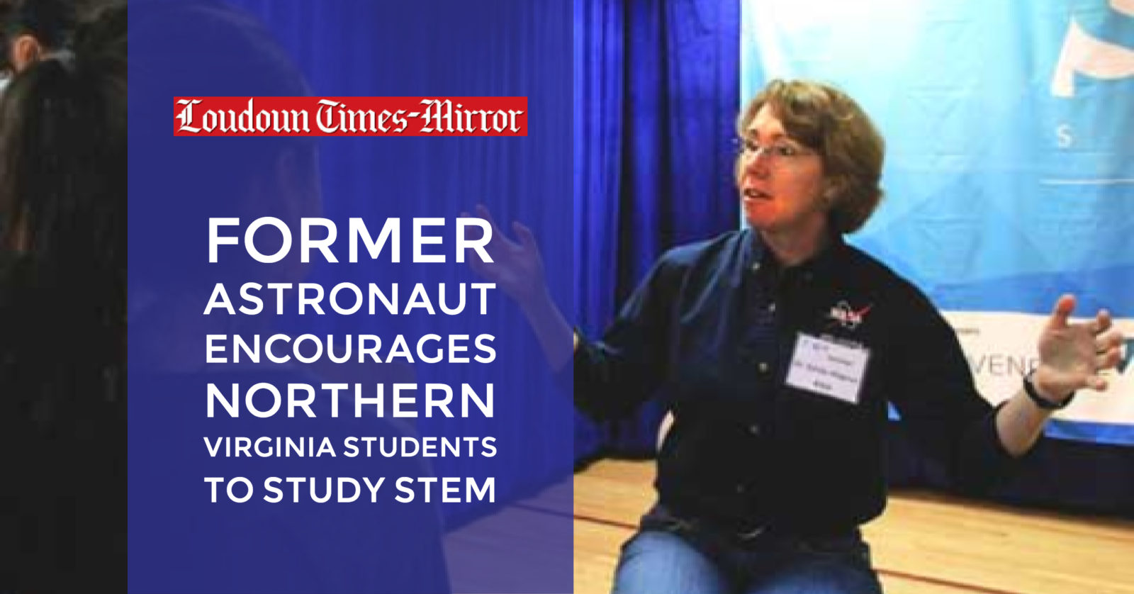 Former astronaut encourages Northern Virginia students to study STEM