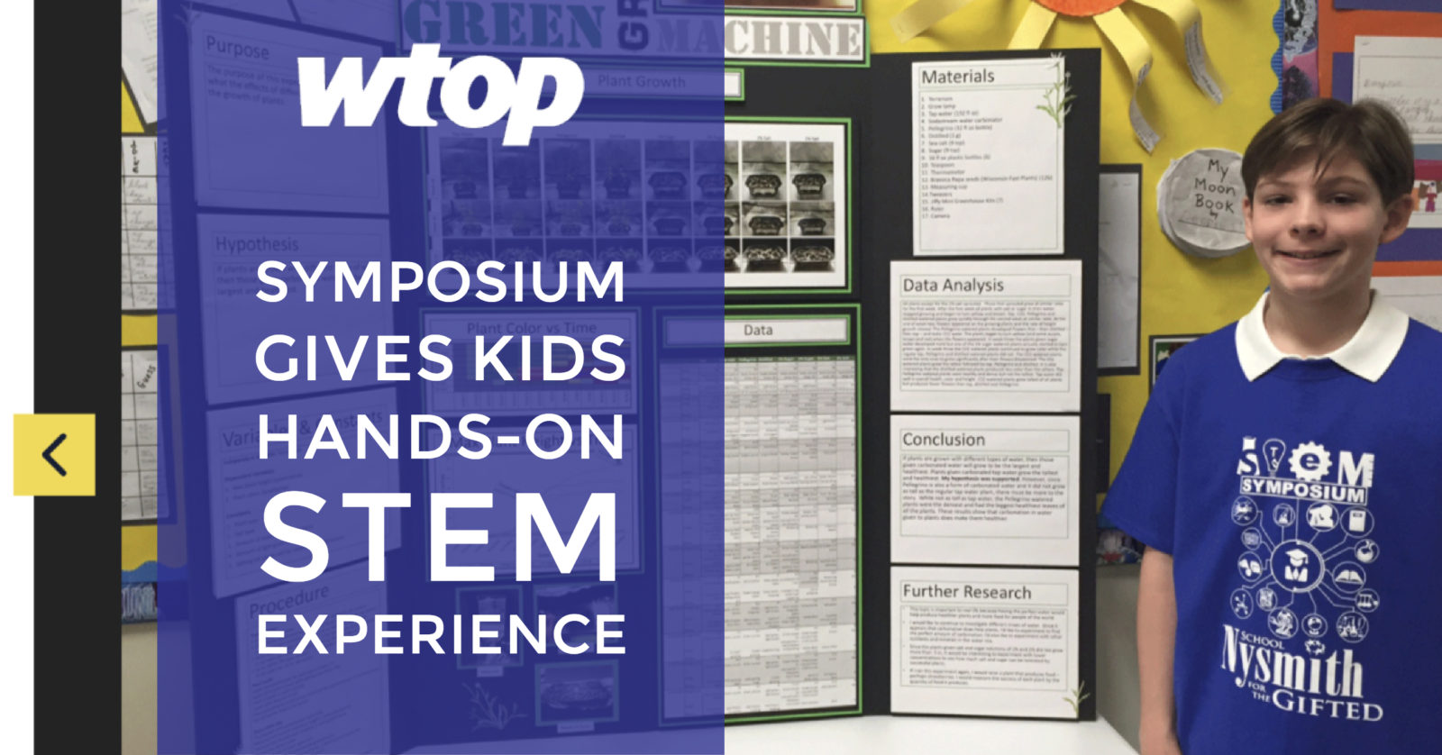 Symposium gives kids hands-on STEM experience - WTOP